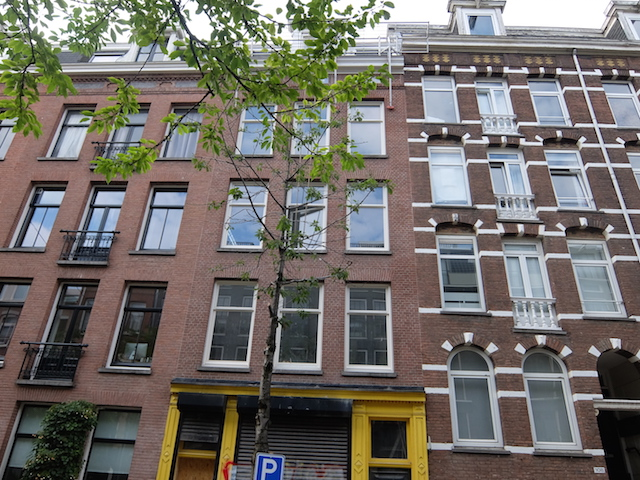 Eerste Jan van der Heijdenstra, Amsterdam